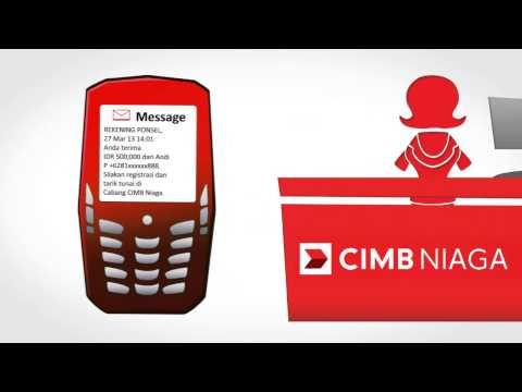 CIMB Niaga - Tutorial Rekening Ponsel CIMB Niaga