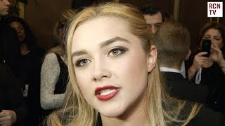 Florence Pugh & Toby Sebastian Interview  - The Falling & Game of Thrones