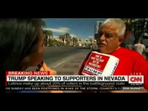 TRUMP SPEAKING TO SUPPORTER IN NEVADA ON CNN Breaking News