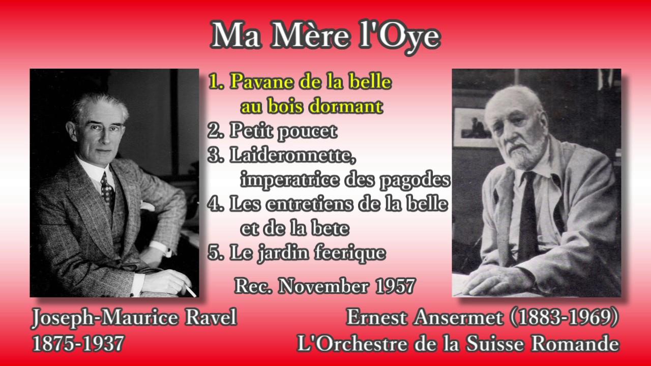 Ravel Ma Mère L Oye Ansermet Osr 1957 ラヴェル マ メール ロワ アンセルメ Youtube