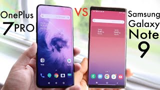 Samsung Galaxy Note 9 Vs OnePlus 7 Pro! (Comparison) (Review)