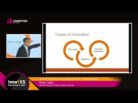 2017 InnoVEX Forum-Exploring Future Opportunities For Taiwan Startups