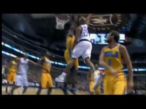 Vince Carter SICK FACIAL Dunk on Emeka Okafor (6ft.10) in HD (Jan. 7, 2012)
