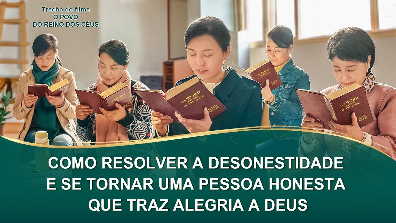 """Filme evangélico """"O povo do reino dos céus"""" Trecho 2 – Como resolver a desonestidade e se tornar uma pessoa honesta que traz alegria a Deus"""