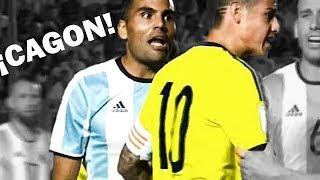 Peleas más impresionantes de la selección Colombia y sus jugadores