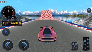 Space Car Real Stunt Drive Simulator / Impossible Stunt Car Driving / Android Gameplay FHD #2