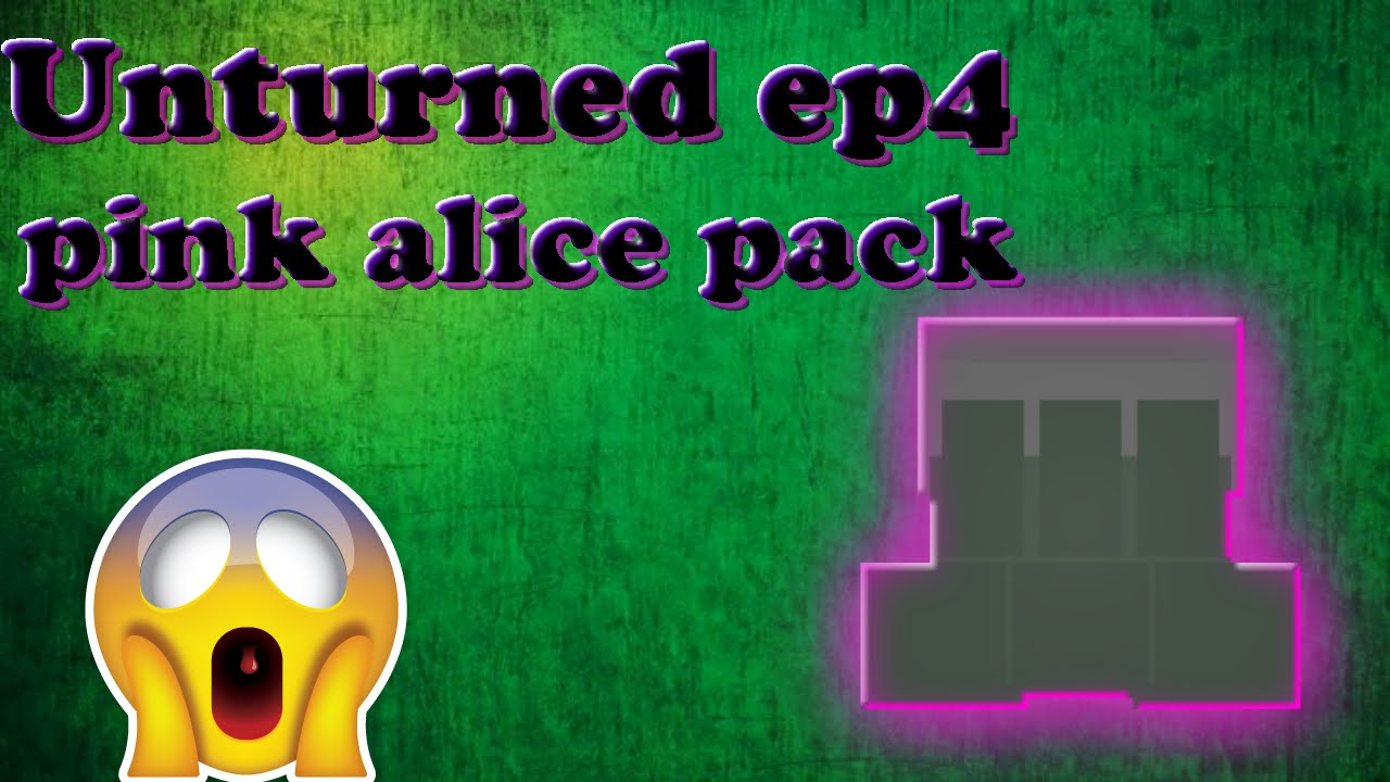 pink alice pack  unturned #4 by Neon -Tech
