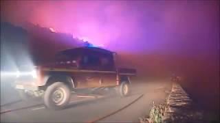 Au coeur de l'incendie en Haute-Corse avec les pompiers
