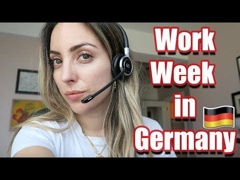 WORK WEEK IN BERLIN | Work Week In My Life In Germany!