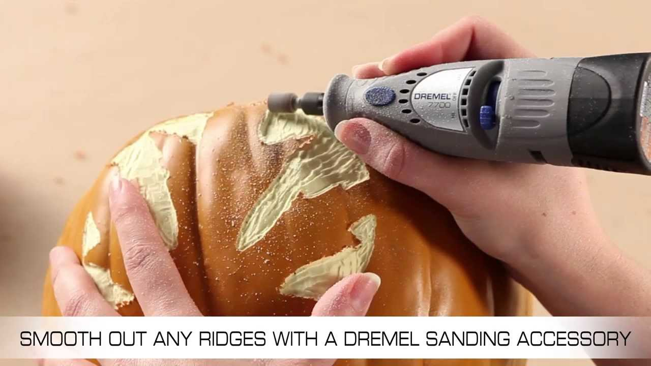 Carving Pumpkins With A Dremel Cordless Rotary Tool Youtube