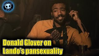 Donald Glover approves of Lando being Pan