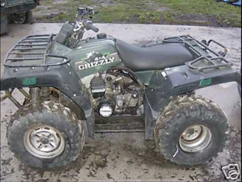 Yamaha grizzly 600 1200 youtube for Yamaha grizzly 600
