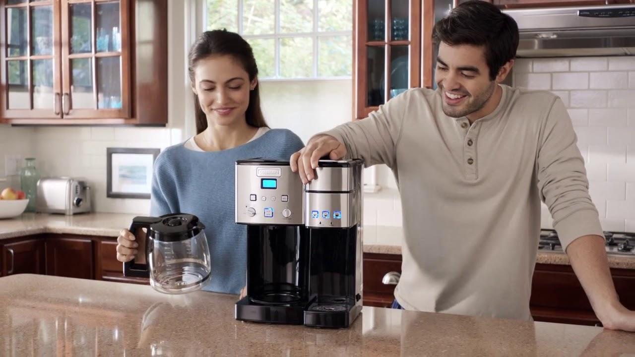 Coffee Center 12 Cup Coffeemaker Single Serve Brewer Ss 15c
