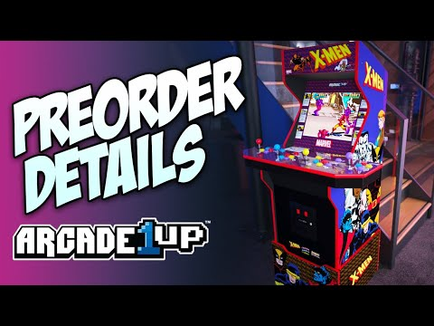 Arcade1Up releases pre-order date for X-Men arcade machine! from Console Kits