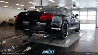 2012 Bentley Continental GT | Tubi Exhaust Before and After