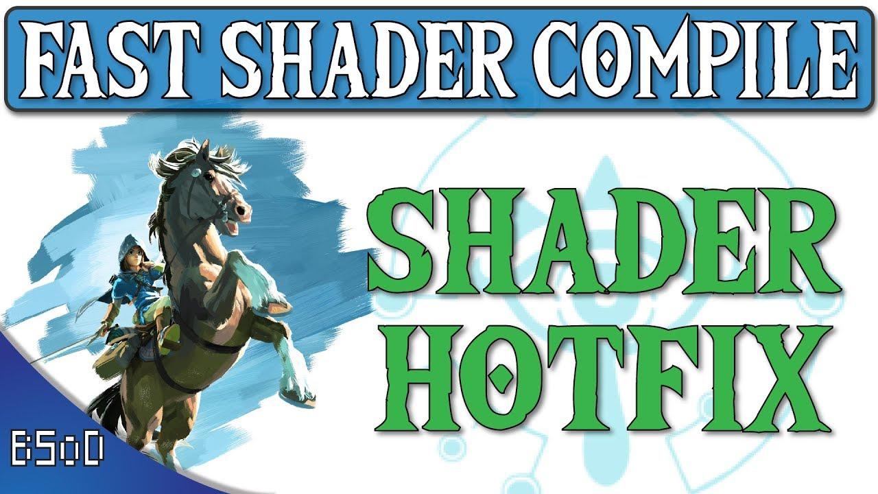 Cemu 1 11 4 | Fast Shader Compilation | Shader Hotfix