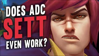 Can Sett be played in the Bottom Lane?
