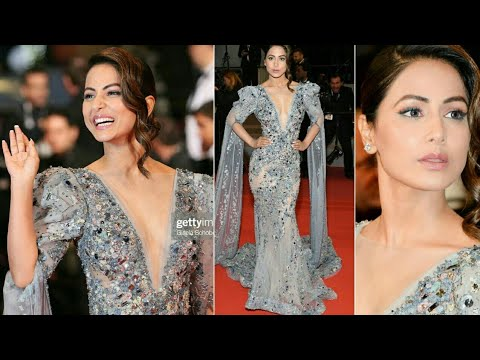 Hina Khan At Cannes Film Festival Red carpet 2019 |Cannes Red Carpet | *Exclusive*