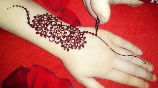 Most attractive and outstanding  arabic mehndi design for hands||mehndi designs||latest mehndi desig