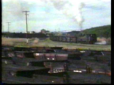 Last Days of the Richmond Vale Railway 1987