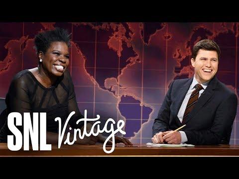 Weekend Update: Leslie Jones on Her Perfect Man  SNL