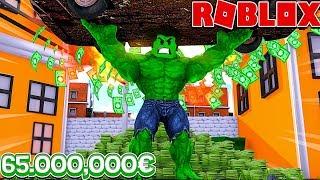 I BUY THE LAST SUPER HERO A 65 MILLION! 👊💥 Roblox