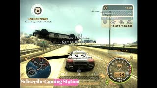 Need For Speed Most Wanted Fun with police by favourite car Hot Pursuit