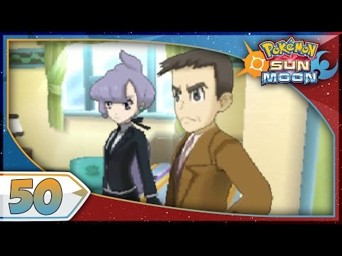 Pokémon Sun And Moon - Part 50   Looker! [NEW Nintendo 3DS 100% Walkthrough]