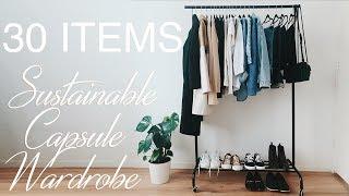 Spring Capsule Wardrobe 2019 | SUSTAINABLE FASHION
