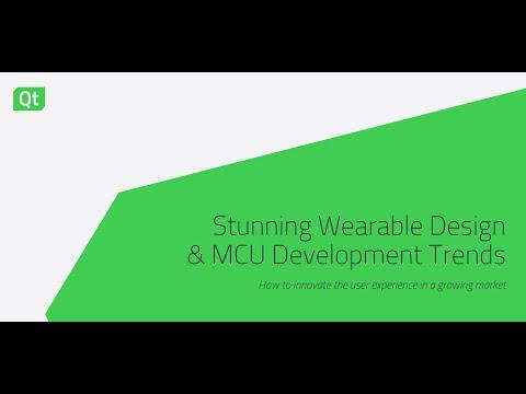 Stunning Wearable Design & MCU Development Trends {On-demand webinar}