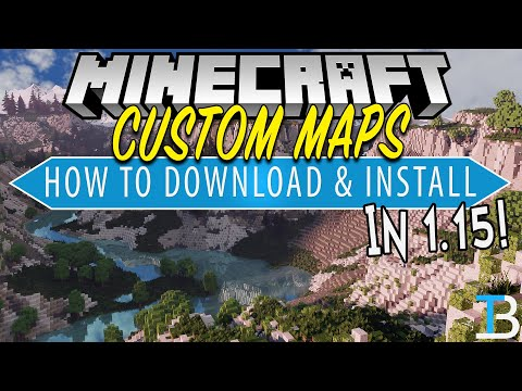 How To Download & Install Minecraft Maps In Minecraft 1.15 (PC)