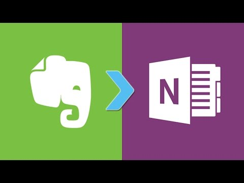 The proper way to transfer your notes from Evernote to Onenote