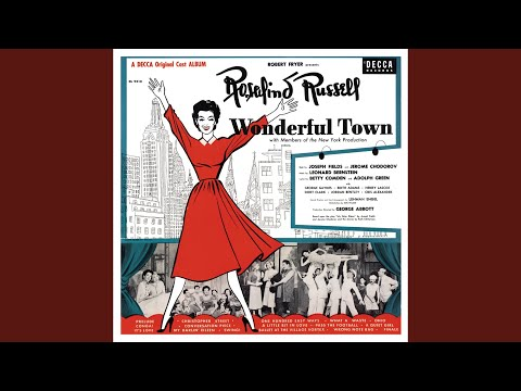 Wrong Note Rag Wonderful Town 1953 Original Broadway Cast Remastered Youtube