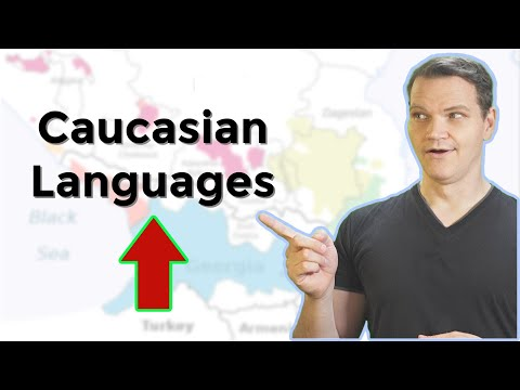 The Caucasian Languages Of The Caucasus Mountains
