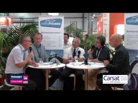 Radio Présence Carsat à Preventica Toulouse 2015