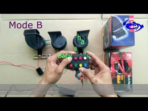 Update Modul Telolet HDi 8 Tombol 3 Corong Mode A/B