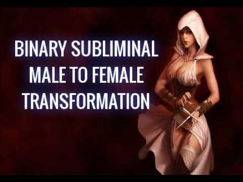binary subliminal |15.78 million bytes MALE TO female TRANSFORMATION BINARY SUBLIMINAL