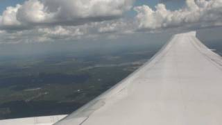 United (Continental Airlines) - Take off Houston George Bush Intercontinental Airport B767-400ER