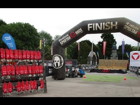 Reebok Spartan Race AUSTRIA (Vienna) vlog part 2 - 13/05/2017 (Junior, Super, Sprint)