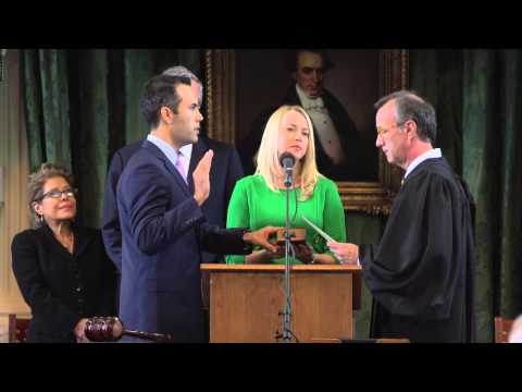 George P Bush  Texas Land Commissioner  Oath of Office