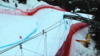 Lindsey Vonn in prova a Cortina