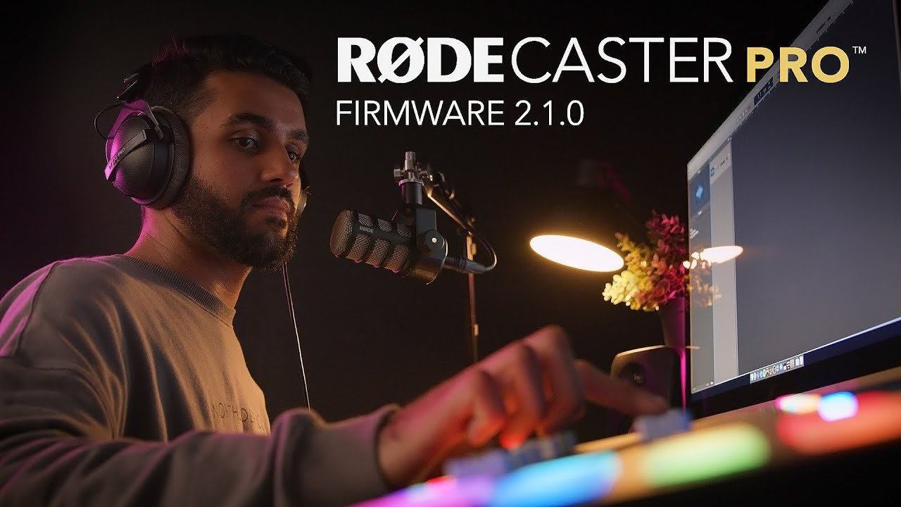 Introducing Firmware 2.1 for the RØDECaster Pro!