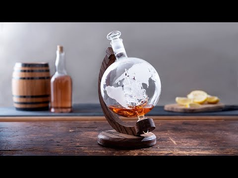Prestige Decanters | Hand-Blown Glass Decanter