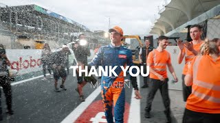 Dear Mclaren Family | THANK YOU