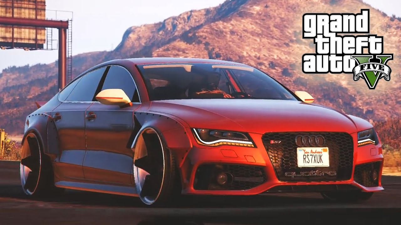 Gta 5 Amazing Quot Audi Rs7 X Uk Quot Mod Showcase Gta V Modded