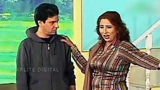 Best Of Tariq Tedd and Abida Baig New Pakistani Stage Drama Full Comedy Funny Clip   Pk Mast