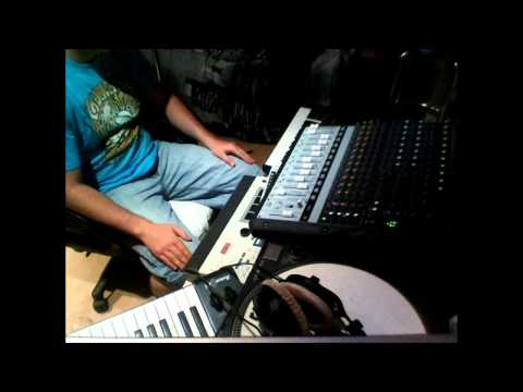 MPC 60 s6000 more advanced sequences (KORG MS10 sounds)