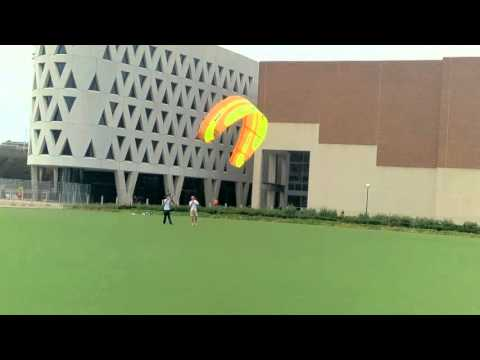 Renewable Energy: Kite Flight Test for an Energy Ship with Counter Rotating Hydrokinetic Turbines