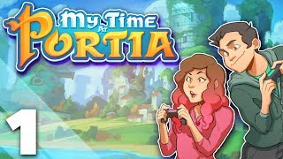 My Time at Portia - #1 - Neighborly Sparring - PlayFrame