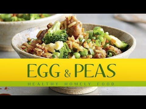 Egg & Peas | Healthy Homely Recipes | Fuze HD | Dish 01
